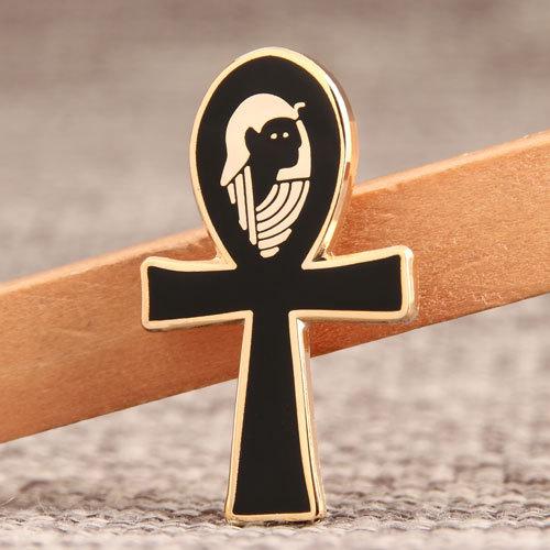 Crucifix Custom Enamel Pins