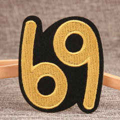 Six Nine Custom Embroidered Patches