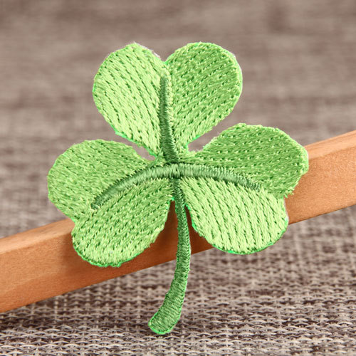 Green Leaf Custom Patches