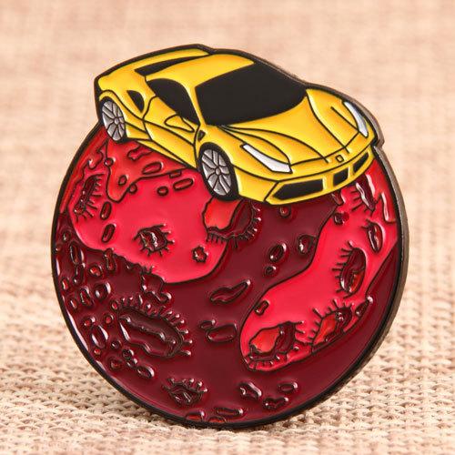 Sports Car Custom Pins