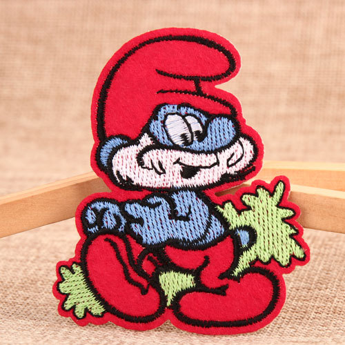 The Smurfs Cheap Custom Patches