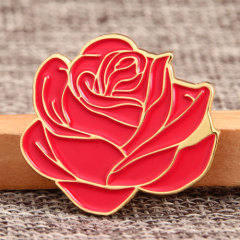 Blooming Flower Soft Enamel Pins