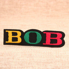 BOB Custom Iron On Patches No Minimum