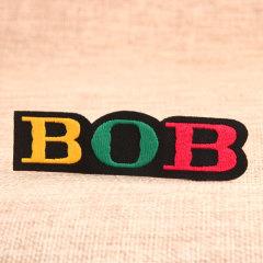 BOB Custom Iron On Patches No Minimum