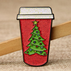 Chirstmas Cup Custom Lape Pins