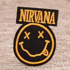 Nirvana Band Custom Patches No Minimum
