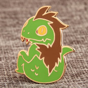 Little Monster Custom Pins
