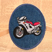 The Motorcycle Custom Patches No Minimum