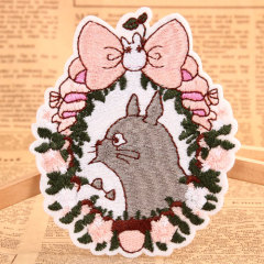 Totoro Embroidered Patches