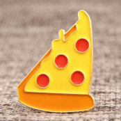 Pizza Soft Enamel Pins ​
