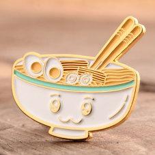 Noodle Custom Metal Pins