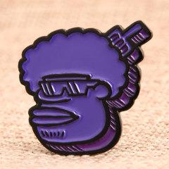 Custom Funny Man Lapel Pins