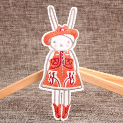 The Rabbit Custom Embroidered Iron On Patches