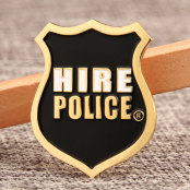 Hire Police Custom Pins
