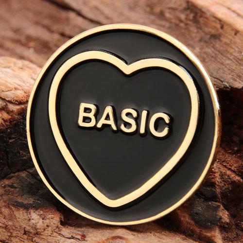 Basic Heart Custom Lapel Pins