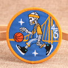 Basketball Custom Embroidered Patches