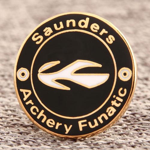 Custom Saunders Archery Pins