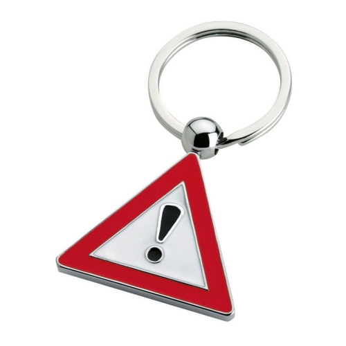 Tra Exclamation Custom Keychains