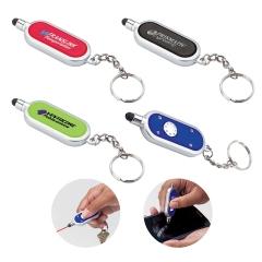 Iris Laser Pointer / Stylus Custom Keychains