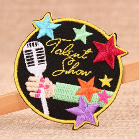 Let Us Sing Iron On Embroidered Patches