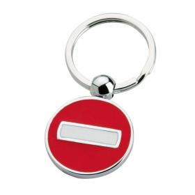Tra No Entry Custom Keychains