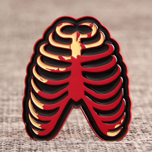 Blood Lung Custom Pins