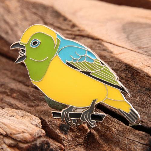 Bird Custom Enamel Pins