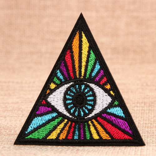Colorful Eye Custom Made Patches