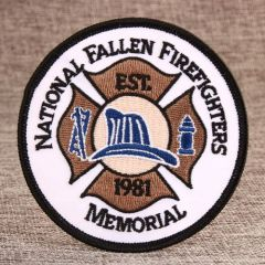 Memorial Custom Embroidered Patches