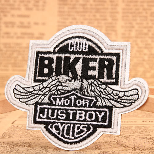 Biker Custom Embroidered Patches