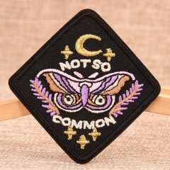 Not So Common Embroidered Patches