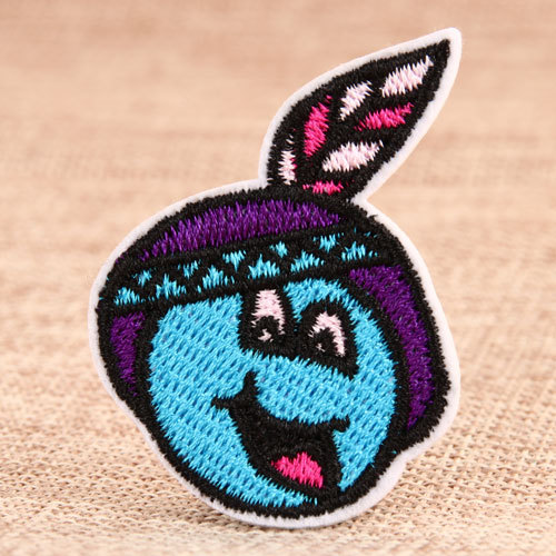 Blue Hat Custom Made Patches