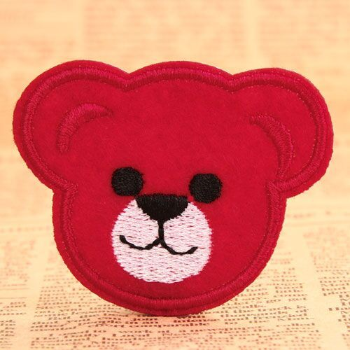 Red Bear Custom Patches Online