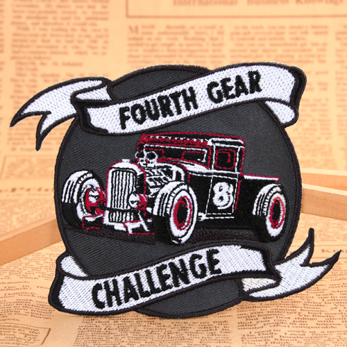 Challenge Embroidered Patches