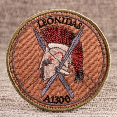 Leonidas Custom Patches