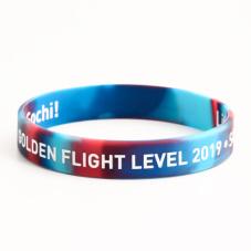 Golden Flight Level Wristbands