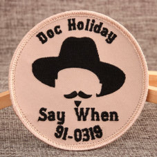 Cowboy Hat Custom Velcro Patches No Minimum