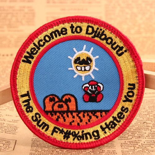Circle Personalized Patches