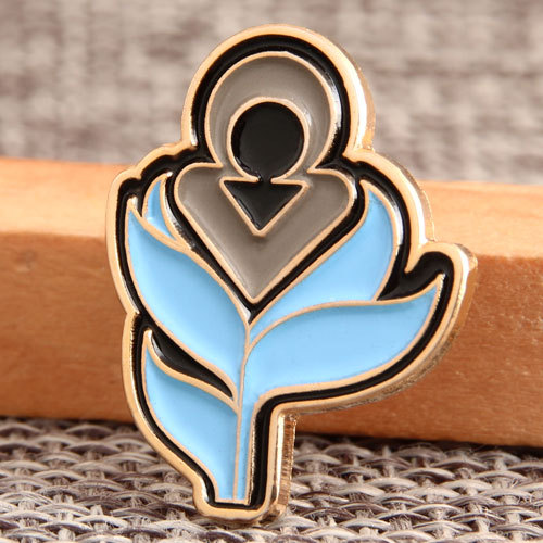Flower Sign custom Lapel Pins