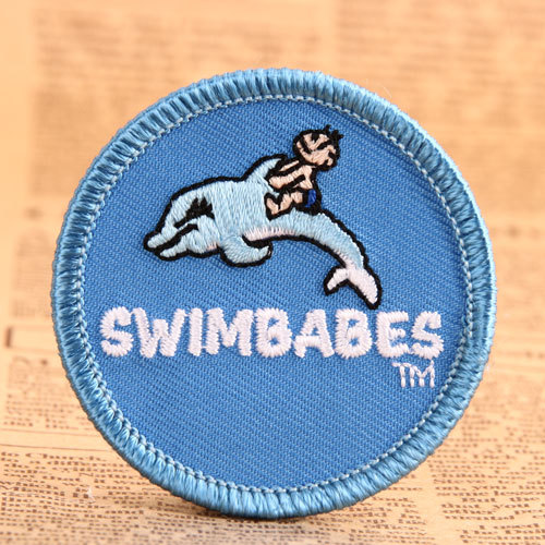 Swimbabes Custom Embroidered Patches