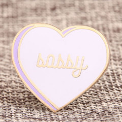 Babby Heart Custom Enamel Pins