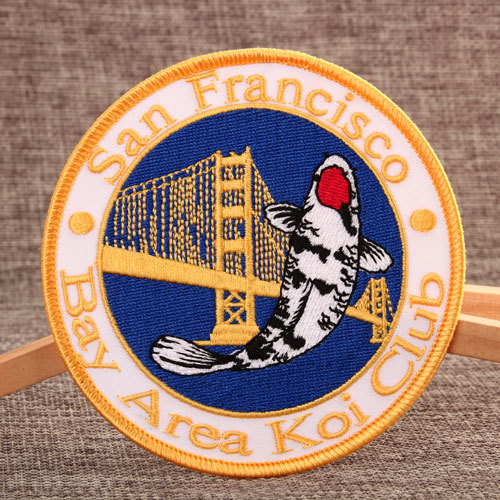 Bay Area Koi Club Custom Patches
