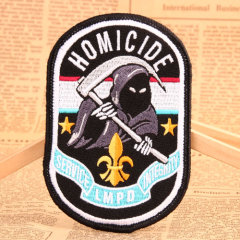 Homicide Custom Velcro Patches No Minimum