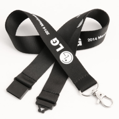 LG Single Custom Lanyards