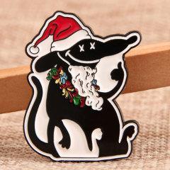 Christmas Rat Lapel Pins