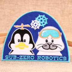 Sub Zero Robotics Custom Patches
