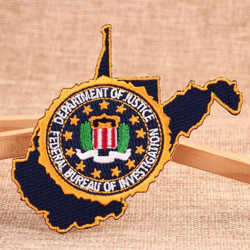 Federal Bureau of Investigation Custom Patches