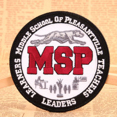 MSP Custom Embroidered Patches