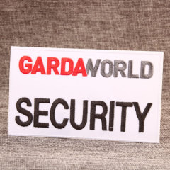 Garda World Personalized Patches