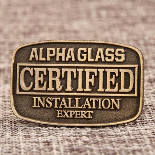 Certified Expert Custom Pins